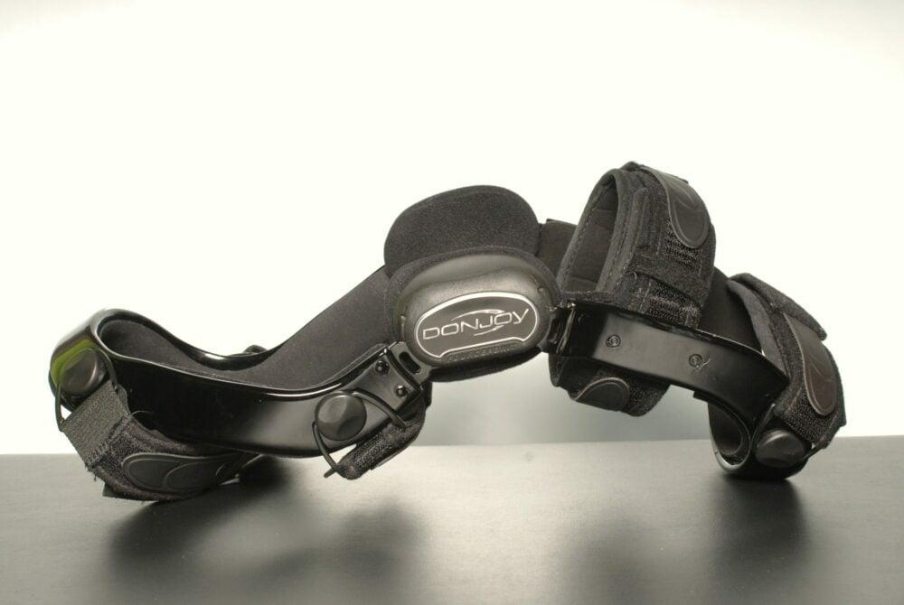 black Donjoy custom knee brace