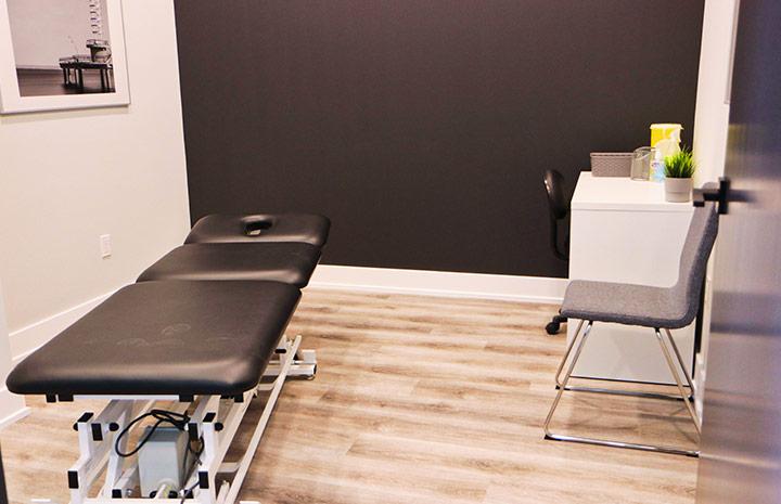 Cornerstone Physiotherapy Burlington private treatment room
