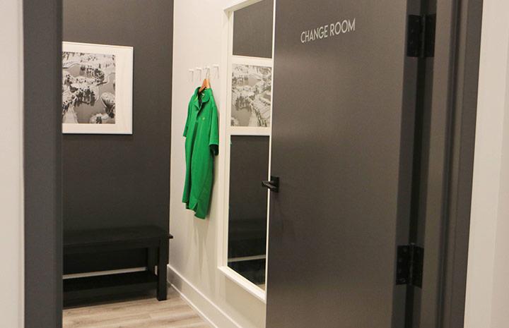 Cornerstone Physiotherapy Burlington change room