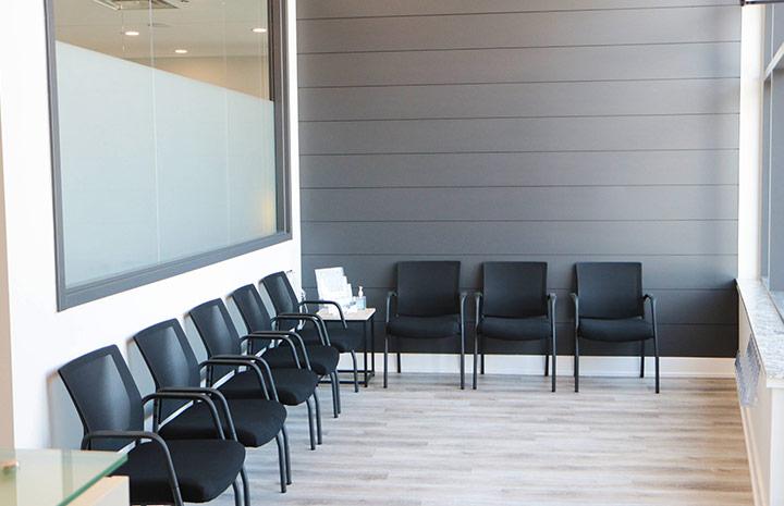 Cornerstone Physiotherapy Burlington waiting room