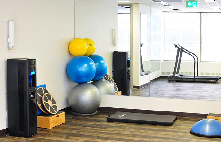 Cornerstone Physiotherapy Downtown Toronto gym area