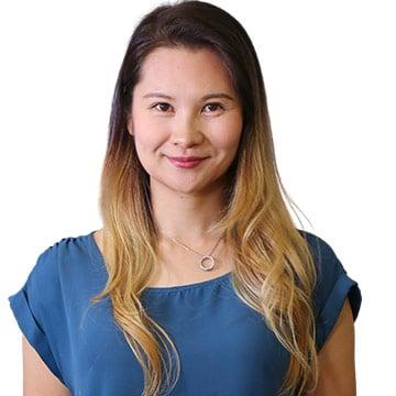 Head shot of Registered Massage Therapist Sophia Luo