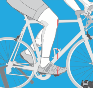 how to find fore aft saddle position bike